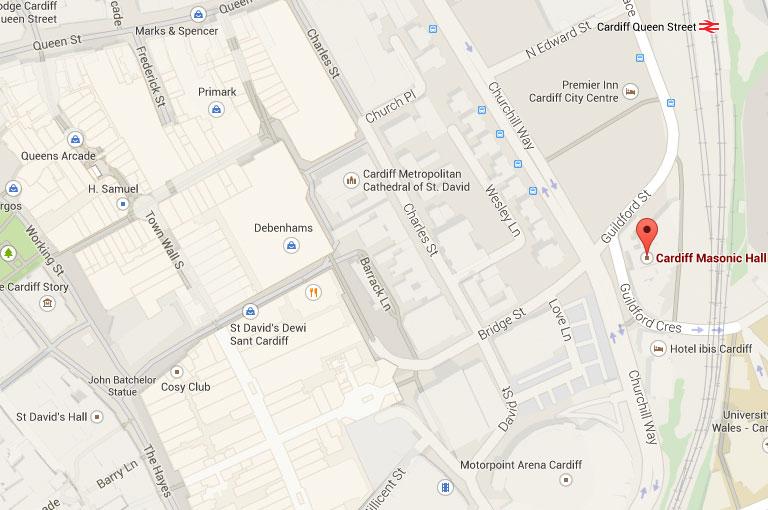 cardiff-masonic-hall-map